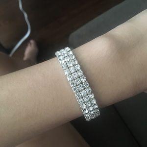 Jewelry - rhinestone elastic bracelet